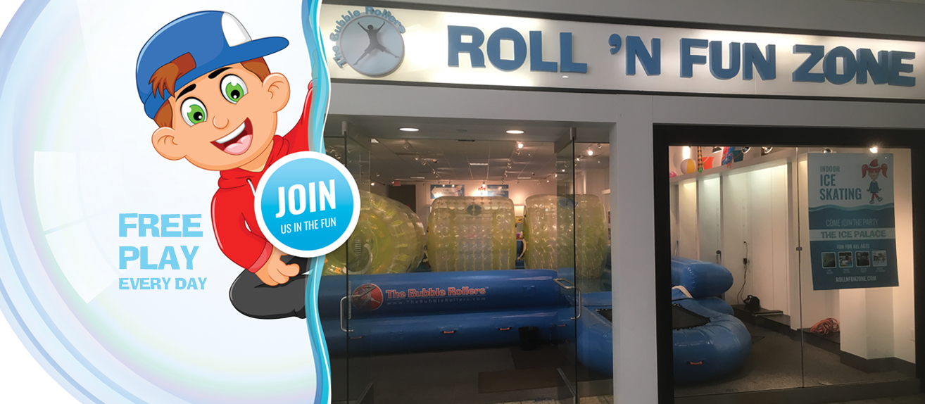 Image of store front of Roll N Fun Zone Kids Entertainment attraction